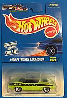 Базовая машинка Hot Wheels   1970 Plymouth Barracuda