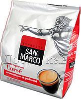 Кофе молотый в чалдах San Marco CORSE (100% Арабика) 36 шт 250г