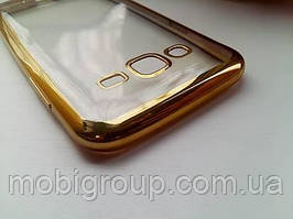 Чехол силиконовый с бампером под металик Samsung J5