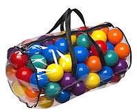 Детский игровой набор Шарики 49600 для сухого бассейна, 100 шт в сумке (большие)