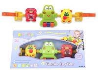 Детская игрушка Погремушка на коляску 869-11 погремушка, трещетка, световой эффект