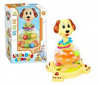 Игрушка  для самых маленьких Юла SL83060 Собака