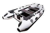 Фирменная килевая лодка Vulkan TMK340U светло-серая