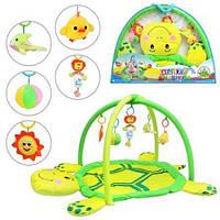 Игровой набор для самых маленьких Коврик для младенца 898-12 B с подвесками