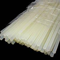 (~1 кг,7мм)(пр-во КИТАЙ)  Клеевой стержень 7мм 30см (кол-во 91 шт), клей силиконовый
