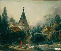 Эрмитаж Boucher, Francois - Landscape Near Beauvais