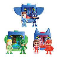 Большой игровой набор фигурок ПиДжей Маски ДеЛюкс сет Pj Masks Deluxe , фото 1