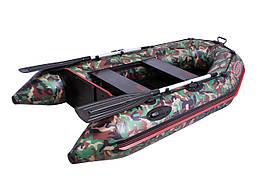 Шикарная моторная лодка Vulkan VM240 в камуфляже
