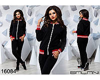 Стильный женский спортивный костюм - 16084 р-р S   M   L женская одежда от производителя Украина