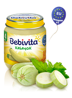 Пюре Bebivita Кабачок, 125 г