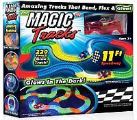 MAGIC TRACKS 220 детский светящийся конструктор