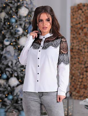 Женская блузка №151-116/1 БАТАЛ