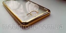 Чехол силиконовый с бампером под металик Samsung J5 Prime