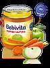 Пюре Bebivita Морковь и яблоко, 125 г