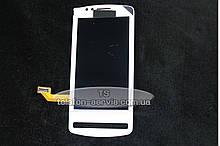 Дисплей  Nokia 700, с тачскрином,белый