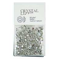Стразы кристалл микс упаковка, 1440 шт