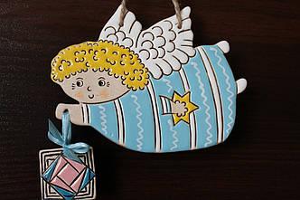 """Логотип """"Летючий ангел"""" для Редакції газети """"Підручники і посібники"""""""