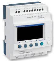 SR2B122BD Zelio Logic реле компакт 12вход/выход 24В, часы