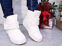 Женские ботинки на липучке, фото 1