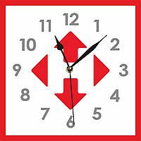 """Часы с логотипом """"Новая почта"""""""