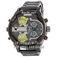 Часы Diesel DZ7314 Steel All Black-Gray-Green реплика, фото 1