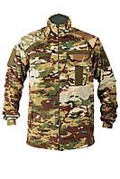 Флисовый камуфлированный мужской свитер