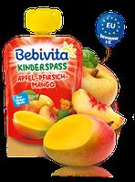 Фруктове пюре Bebivita Яблуко-персик-манго, 90 г