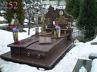 Памятник из токовського гранита, фото 1