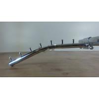 """Флейта на перекладину  труба ,( 7 гвоздиков, 30 см,ХРОМ) """"Torg"""" ZZ-0050"""