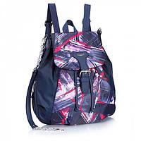 Женский рюкзак Dolly 371 с цветной вставкой