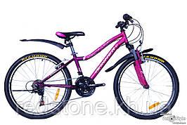 Велосипед Winner CANDY 2017 фіолетово-малиновий