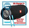 Портативная Bluetooth колонка JBL Charge 3 влагозащита, microSD, зарядка телефона, 20W