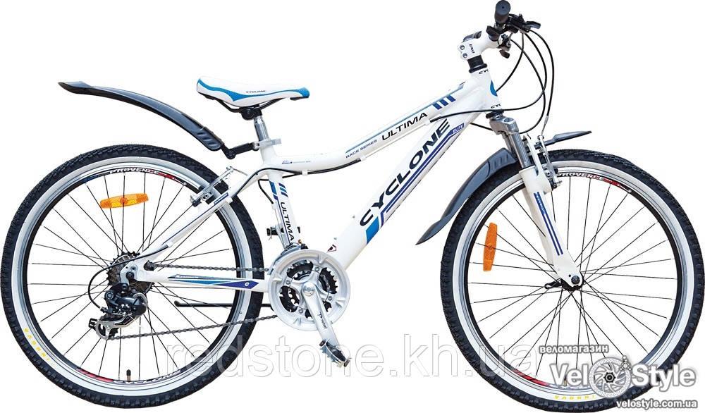 Велосипед CYCLONE ULTIMA 2016 белый