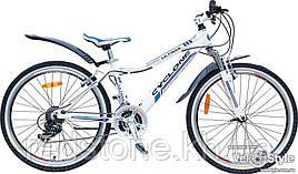 Велосипед CYCLONE ULTIMA 2016 білий