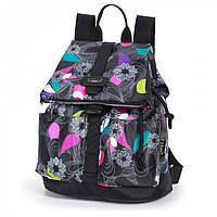 Рюкзак городской Dolly 363 с красивым рисунком-принтом