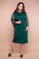 Нарядное зеленое платье Тиара больших размеров