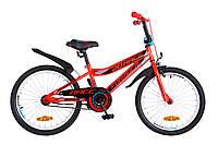"""Велосипед детский Formula Race 20"""" красно-черный"""