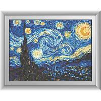 Набор алмазной вышивки Звездная ночь. Ван Гог 30361 (41 х 55 см) Dream Art