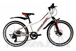Велосипед CYCLONE DREAM 2,0 бело-красный