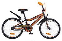 """Велосипед детский Formula Race 20"""" черно-оранжевый"""