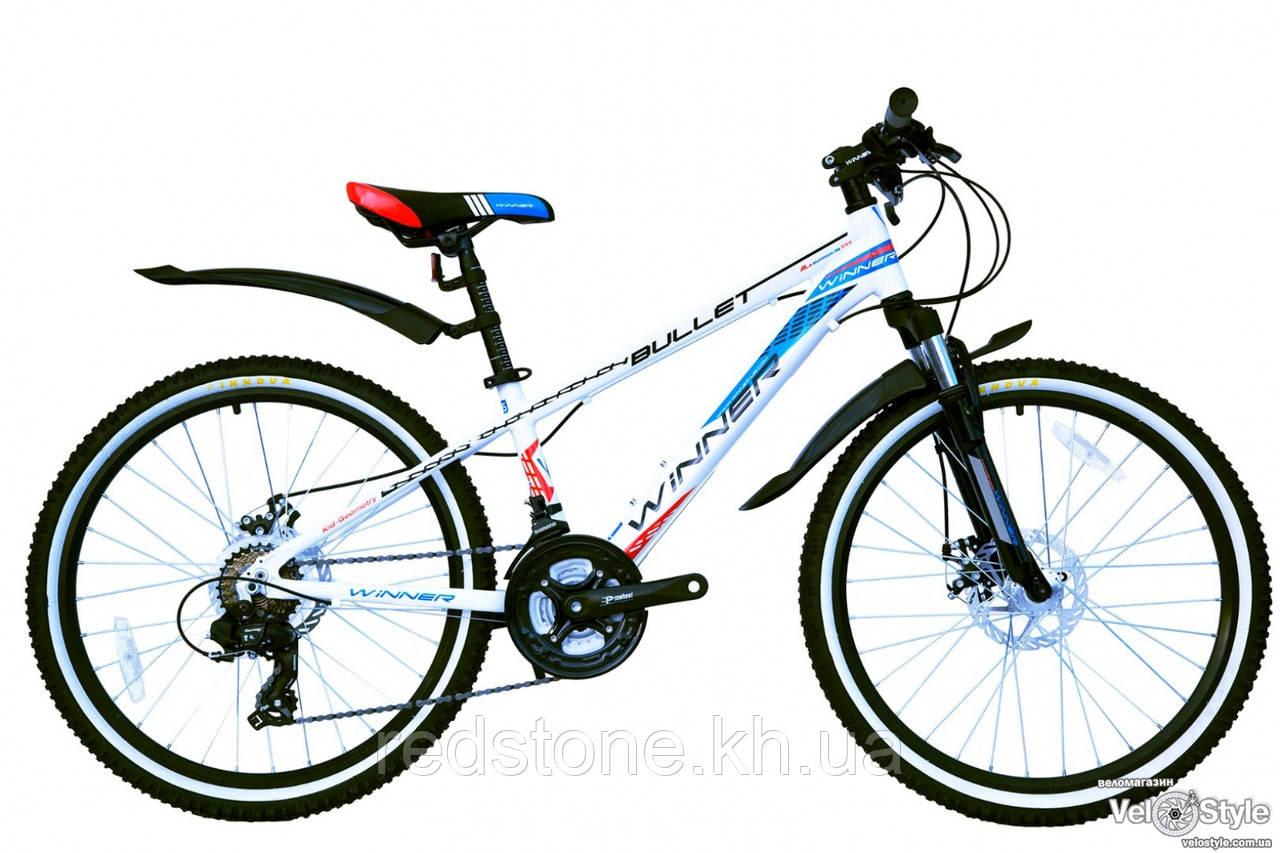 Велосипед Winner BULLET 2017 белый, рама 32 см