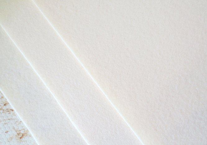Фетр корейский жесткий 1.2 мм, 20 на 30 см ШАМПАНЬ