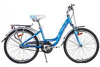 Велосипед Winner INFINITY 2017 голубой, рама 36 см