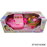 Игровой набор магазин Кассовый аппарат ВТ/2238A, игровой набор супермаркет с продуктами и кассой