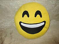 """Подушка смайл Emoji 25 см """"Счастливая улыбка"""""""