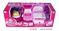 Игровой набор магазин Кассовый аппарат ВТ/16656B, игровой набор супермаркет с продуктами и кассой
