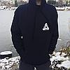 Palace толстовка черная • Фото живые • Топовая худи с биркой, фото 3