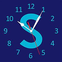 "Часы с логотипом ""SoftServe"""