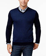 CLUB ROOM фирменный шерстяной тонкий джемпер р.56-Укр XXL-USA из США пуловер