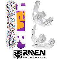 Сноуборд RAVEN GRID WHITE 138 см